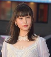 映画『トランスフォーマー/最後の騎士王』のジャパンプレミアに参加した桜井日奈子