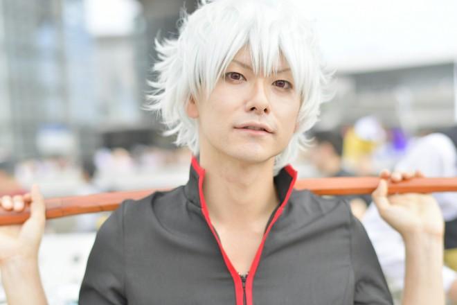 『銀魂』坂田銀時のコスプレ ぽるる ぽるさん @polulupolu