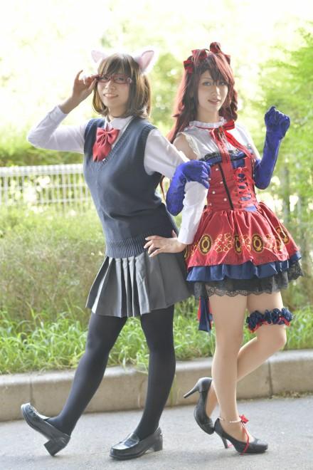 『東京ゲームショウ2017』コスプレイヤー・Rioさん / ゆったんさん