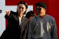菅田将暉とヤン・イクチュン/『あゝ、荒野』