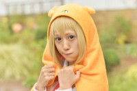 『池袋ハロウィンコスプレフェス2017』コスプレイヤー・小町くるみさん<br>(『干物妹!うまるちゃんR』土間うまる)