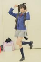 『池袋ハロウィンコスプレフェス2017』コスプレイヤー・ひなしゅあさん<br>(『けいおん!』中野梓)