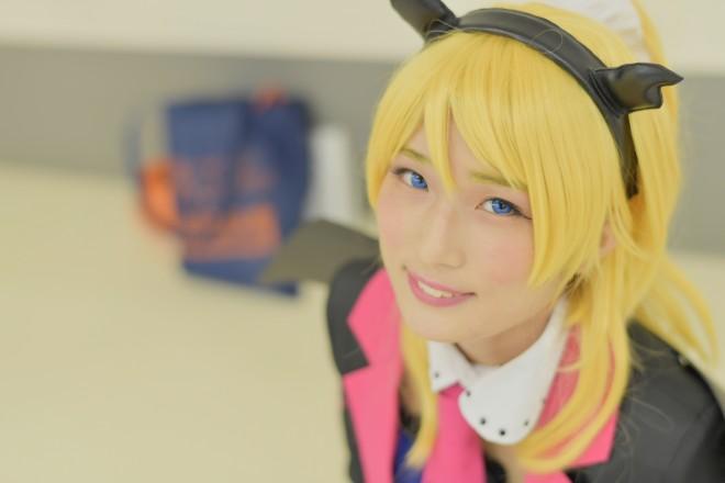 『池袋ハロウィンコスプレフェス2017』コスプレイヤー・HINAさん<br>(『ラブライブ!』絢瀬絵里)