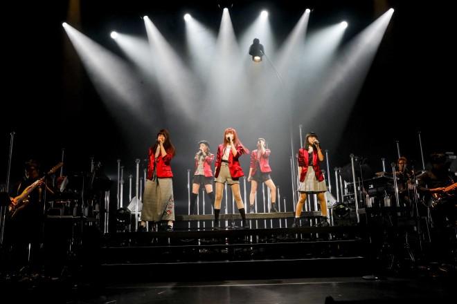 Little Glee Monster アリアナ・グランデのサポートアクトとして登場