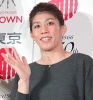 吉田沙保里選手 (C)ORICON NewS inc.