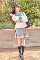 『acosta! コスプレイベント』(11月25日 池袋サンシャインシティ)コスプレイヤー・霧札 兎。さん<br>(『ラブライブ!サンシャイン!!』黒澤ダイヤ)
