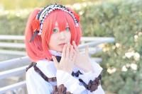 『acosta! コスプレイベント』(11月25日 池袋サンシャインシティ)コスプレイヤー・ろわ子さん<br>(『ラブライブ!サンシャイン!!』黒澤ルビィ)