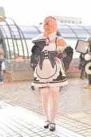 『acosta! コスプレイベント』(11月25日 池袋サンシャインシティ)コスプレイヤー・蜜柑さん<br>(『Re:ゼロから始める異世界生活』ラム)