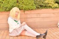 『acosta! コスプレイベント』(11月25日 池袋サンシャインシティ)コスプレイヤー・りりめあさん<br>(『ラブライブ!サンシャイン!!』小原鞠莉)