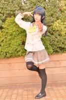 『acosta! コスプレイベント』(11月25日 池袋サンシャインシティ)コスプレイヤー・かりんさん<br>(『ラブライブ!サンシャイン!!』津島善子)