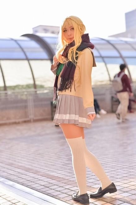 『acosta! コスプレイベント』(11月25日 池袋サンシャインシティ)コスプレイヤー・Noeさん<br>(『ラブライブ!サンシャイン!!』小原鞠莉)