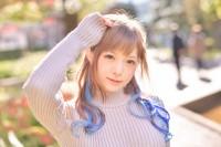 """""""異色肌ブーム""""の仕掛け人となったmiyakoさん。その驚きの素顔を公開! (C)oricon ME inc."""