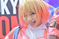 『東京コミコン2017』コスプレイヤー・仁藤りささん<br>(グウェンプール)