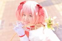 『acosta! コスプレイベント』(12月10日 池袋サンシャインシティ)コスプレイヤー・十六夜姫桜さん<br>(『魔法少女まどか☆マギカ』鹿目まどか)