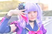 『acosta! コスプレイベント』(12月10日 池袋サンシャインシティ)コスプレイヤー・熊澤ぷぷさん<br>(『BanG Dream!』宇田川あこ)