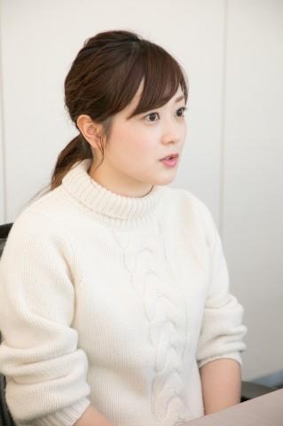 日本テレビ・水卜麻美アナウンサー(写真:田中達晃)