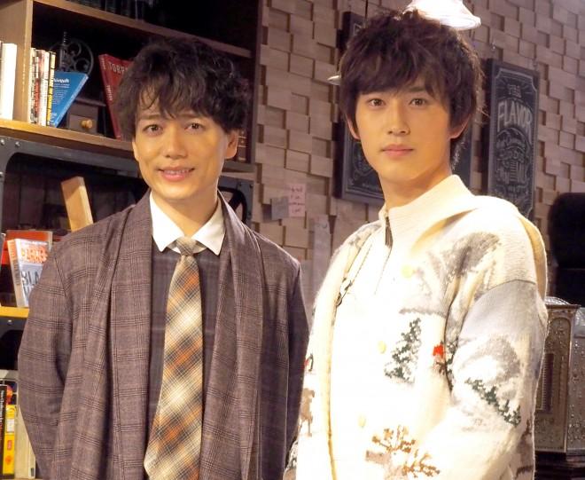 (左から)山崎育三郎、杉野遥亮