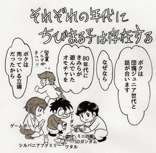 田中圭一氏のブログ『田中圭一のゲームっぽい日常』のイラスト
