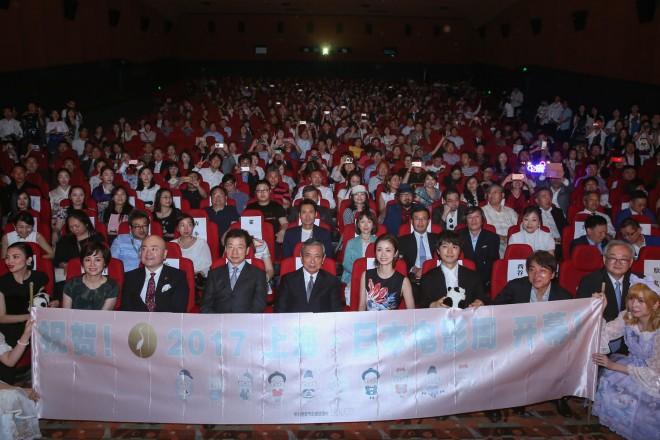 「上海・日本映画週間」で上映された『昼顔』の会場には大勢の観客がつめかけた