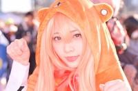 『コミケ93』コスプレイヤー・柊あいかさん<br>(『干物妹!うまるちゃん』土間埋)