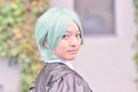 『コミケ93』コスプレイヤー・ささみさん<br>(『宝石の国』フォスフォフィライト)