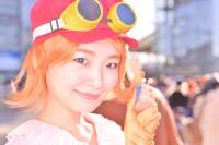 『コミケ93』コスプレイヤー・平咲夏加さん<br>(『ワンピース』コアラ)