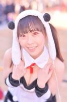 『コミケ93』コスプレイヤー・原美織さん<br>(『ラブライブ!』矢澤にこ)