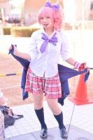 『コミケ93』コスプレイヤー・ちのさん<br>(『THE IDOLM@STER CINDERELLA GIRLS』城ヶ崎美嘉)