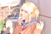 『コミケ93』コスプレイヤー・るたぴさん<br>(『僕のヒーローアカデミア』トガヒミコ)