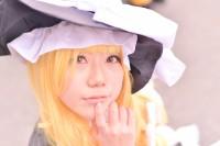 『コミケ93』コスプレイヤー・bunnyさん<br>(『東方Project』霧雨魔理沙)