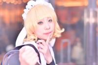 『コミケ93』コスプレイヤー・孤泉あおげさん<br>(『ご注文はうさぎですか?』シャロ )