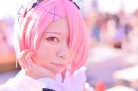 『コミケ93』コスプレイヤー・淡雪さん<br>(『リゼロ』ラム)