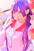 『コミケ93』コスプレイヤー・ひよ兎さん<br>(『化物語』戦場ヶ原ひたぎ)
