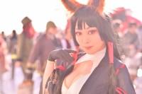 『コミケ93』コスプレイヤー・めぐめぐさん<br>(『アズールレーン』赤城)