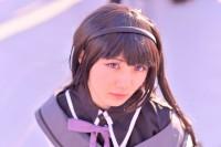 『コミケ93』コスプレイヤー・誉あうさん<br>(『魔法少女まどか☆マギカ』暁美ほむら)