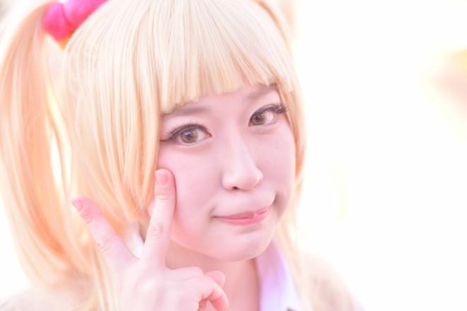 『コミケ93』コスプレイヤー・れいみこさん<br>(『THE IDOLM@STER CINDERELLA GIRLS』城ヶ崎莉嘉)