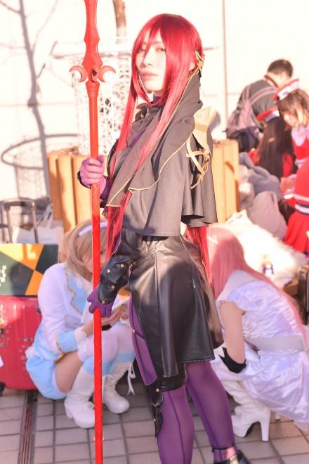 『コミケ93』コスプレイヤー・燐子さん<br>(『Fate/GrandOrder』スカサハ)
