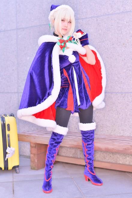 『コミケ93』コスプレイヤー・東城Alexさん<br>(『Fate/GrandOrder』アルトリア)