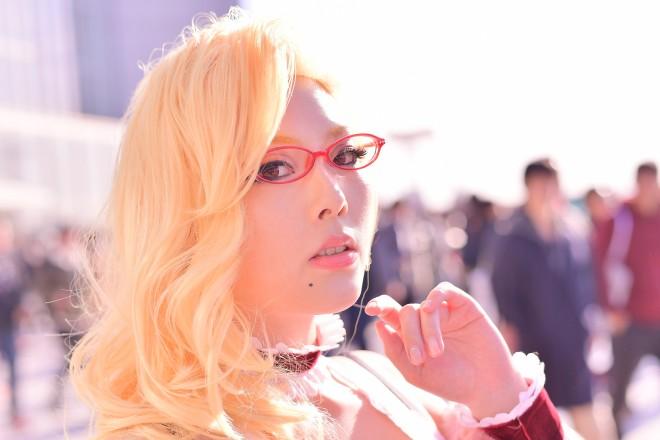 『コミケ93』コスプレイヤー・八木山ゆんける さん<br>(『ボールルームへようこそ』兵藤マリサ)