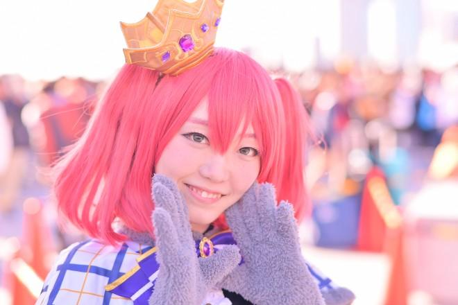 『コミケ93』コスプレイヤー・いちかさん<br>(『ラブライブ!サンシャイン!!』黒澤ダイヤ)