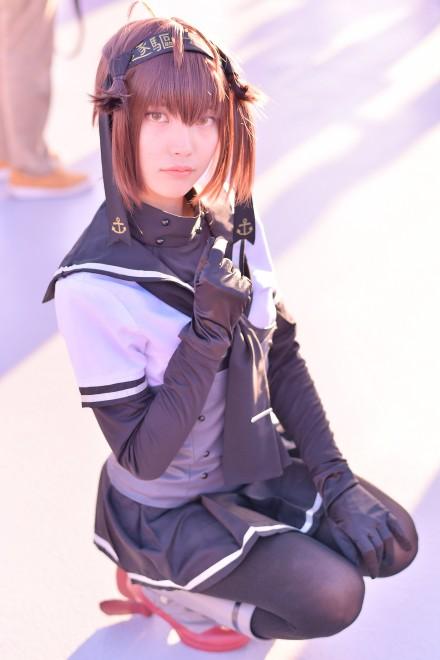 『コミケ93』コスプレイヤー・ターニャさん<br>(『艦隊これくしょん 』初月)