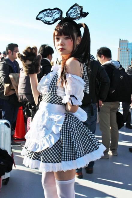 『コミケ93』コスプレイヤー・イチジョウリオ。さん<br>(オリジナル)