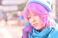 『acosta! コスプレイベント』(1月6日 池袋サンシャインシティ)コスプレイヤー・燕さん<br>(『恋物語』戦場ヶ原ひたぎ)