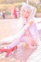 『acosta! コスプレイベント』(1月6日 池袋サンシャインシティ)コスプレイヤー・ぽんさん<br>(『魔法少女まどか☆マギカ』キュゥべえ)