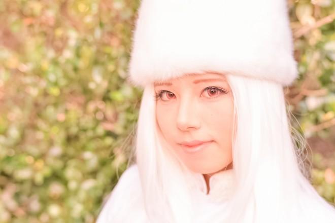 『Fate/Zero』アイリスフィール・フォン・アインツベルンのコスプレ 天海せなさん @senanana_cos
