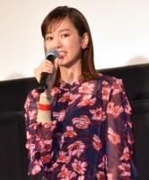 映画『リベンジgirl』の公開記念舞台あいさつに出席した桐谷美玲 (C)ORICON NewS inc.