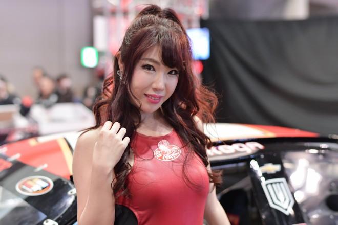 画像・写真   『東京オートサロン2018』美人コンパニオン ...