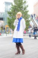『acosta! コスプレイベント』コスプレイヤー・まさるさん<br>(『Fate/stay night』セイバー)