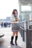 『acosta! コスプレイベント』コスプレイヤー・ゆめかさん<br>(『ラブライブ!サンシャイン!!』黒澤ダイヤ)