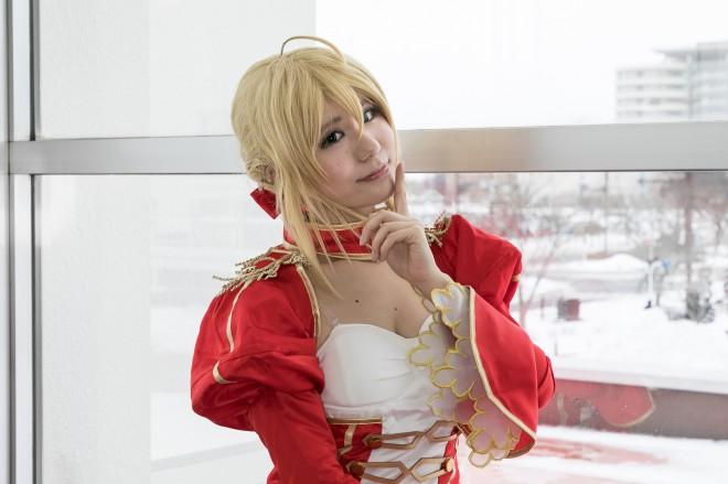『ガタケット155コスプレイベント』コスプレイヤー・ちょころんさん<br>(『Fate/Grand Order』ネロ・クラウディウス)